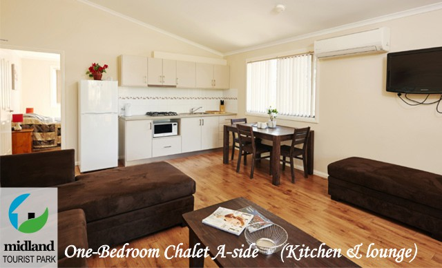 One-bedroom Chalet at Midland Tourist Park